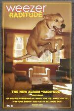 Weezer Raditude 2009 Promo Poster
