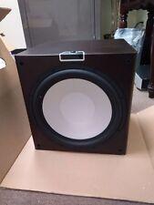 "Monitor Audio GXW-15 15"" Powered Subwoofer(Dark Walnut)-Very Good Condition"