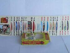 MR BEAN CARTA MUNDI FULL PLAYING CARD SET ROWAN ATKINSON MINT BOXED NEW <**>