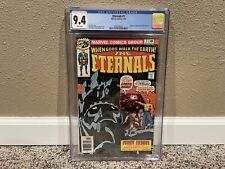 The Eternals #1 CGC 9.4- Origin & 1st Appearance the Eternals! WHITE PAGES!