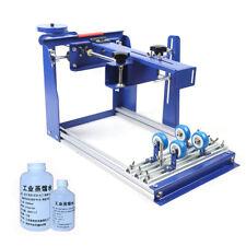 New listing B Grade Simple Curved Screen Printer Cylindrical Printing Machine Qmh170 TypeNew