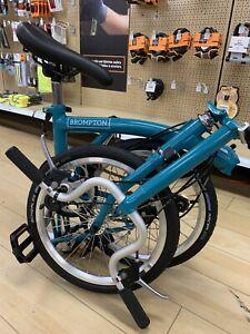 "BNIB Brompton B75 16"" Folding Bike - Blue"