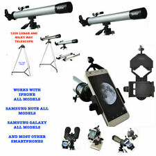 HD REFRACTOR TELESCOPE 60X-120X + ADAPTER FOR APPLE IPHONE SAMSUNG GALAXY NOTE