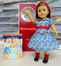 American Girl EMILY DOLL Red Hair Blue Eyes Accessories & Outfits