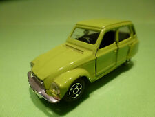 POLISTIL EL52 CITROEN DYANE - LIME GREEN - 1:43 - RARE SELTEN - GOOD CONDITION