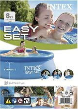 Intex 28110NP - Piscina hinchable 244 x 76 cm, 2.419 litros de Aguas