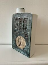 More details for beautiful troika chimney vase ,sylvia valance , rare piece of troika