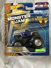Grave Digger The Legend Champion 2018 Hot Wheels Monster Jam Truck Crushable Car