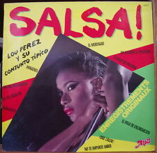 LOU PEREZ Y SU CONJUNTO TIPICO FRENCH LP 1981 ATOLL