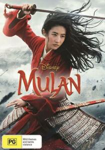 MULAN (2020 Version) DVD-NEW/SEALED-REGION 4-FAST FREE POST IN AUS 👍
