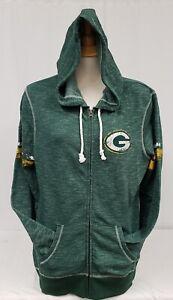 Brand New Majestic Women's NFL Green Bay Packers Hooded Sweatshirt