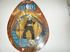 "Farscape Chiana Gidgi Edgely Autographed 7"" Figure Mint on Card Toy Vault Rare"