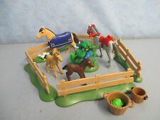 Pferde Koppel Reiterhof Zubehör Tiere Figuren country4190 5221  Playmobil 4901