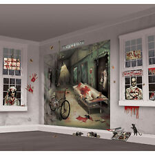 Halloween Horror Surgery Asylum Mega Party Scene Setter Wall Decorating Kit