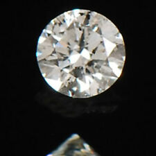 Fabulous Round Cut 0.10CT 100% Natural White Loose Diamond With Free Certificate