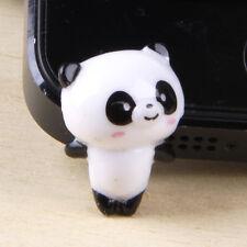 New Cute  Standing Panda Dust Proof phone plug Cover Charm (3.5mm)