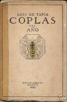 Luis de Tapia - Coplas del Año - Renacimiento, 1920