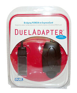 DuelAdapter DP-001 ExpressCard to PCMCIA Adapter - Duel Systems DP0001