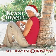 Kenny Chesney / All I Want for Christmas Is a Real Good Tan (LIKE NW CD)  GREAT