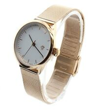 Chpo Ladies Watch Rose Gold Mesh Strap White Dial Nando Womens