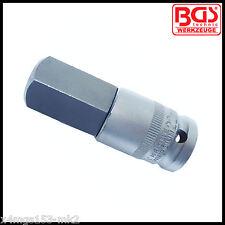 "BGS - 1/2"" - Llave Allen, Hexagonal Interno - 22 Mm x 70 mm Bits Socket-Pro - 4295"