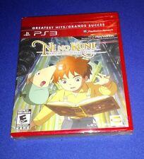 RARE NEW *LOW PRICE!* Factory Sealed Ni No Kuni NiNoKuni for PS3 PlayStation 3