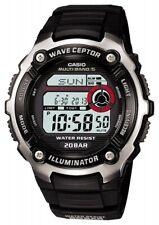 CASIO Sports Gear Radio Control Watch 20BAR Black-Color WV-M200-1AJF Men's