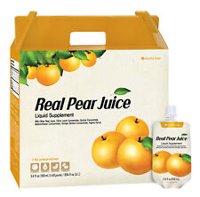Chunho Food Real Pear Juice. Protects, Helps Against Coughing,  No additives