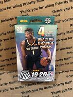 2019-20 Panini Mosaic NBA Basketball Factory Sealed Hanger Box Zion Rookie Ja