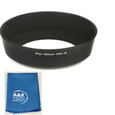 HN-3 Lens Hood For Nikon 35MM F/2.8 35-80MM F4-5.6 DAF HN3 NEW with cleaning kit