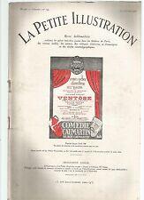 LA PETITE ILLUSTRATION N°199 - VENTOSE - 03 ACTES DE JACQUES DEVAL
