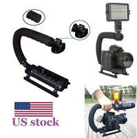 Flash Bracket Hand Grip Gimbal Handheld Stabilizer for Canon Nikon DSLR Camera