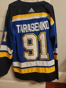 Vladimir Tarasenko adidas  Jersey size 50 st louis blues