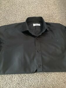 Brioni Black Shirt Mens Large
