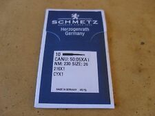 10X NEEDLES 216X1 TO SUIT INDUSTRIAL HEAVY DUTY WALKING FOOT SIZE 230/26