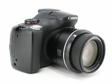 [Near Mint]Canon PowerShot SX30 IS 14.1 MP Digital Camera Black f/s from japan