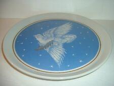 1979 Shenango China Anchor Hocking Ohio Nut & Washing Bird of Prosperity Plate
