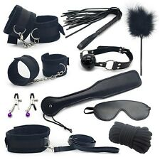 Erotic Toy 10pce/ Set toys Adult Games Bondage Restraint,Handcuffs Nipp