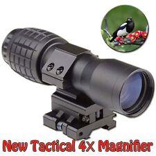 La chasse 4X Magnifier Téléscopes FTS montage latéral coupe 20 mm weaver/picatinny rail