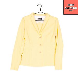 ALEX VIDAL Blazer Jacket Size 40 / L Elasticated Single Breasted Notch Lapel