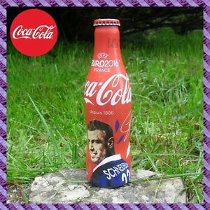 "1 Bouteille Coca-Cola Aluminium "" Morgan SCHNEIDERLIN - 22 "" Euro 2016"