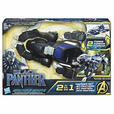 HASBRO MARVEL LEGENDS SERIES BLACK PANTHER 2-IN-1 PANTHER JET VEHICLE