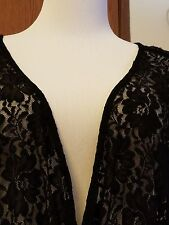 Women's Plus Size BabyDoll Black Lace Sweetheart Neckline Torrid Size 3X XXXL