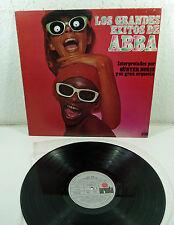 """GÜNTER NORIS - 70s spain ABBA Tribute LP Ariola """"Los Grandes Exitos de ABBA"""""""