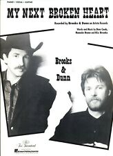 BROOKS & DUNN MY NEXT BROKEN HEART SHEET MUSIC PIANO/VOCAL/GUITAR RARE BRAND NEW