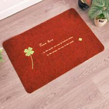 Red 40*60cm Kitchen Door Mat non slip Floor Carpet Doormat Outdoor dedust mate