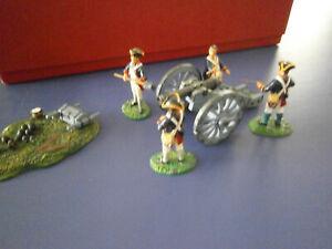 Trophy of Wales  American Revolution  British Artillery gun & crew