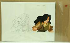 CARMEN SANDIEGO Original Hand Painted Production Animation Cel  (21-68)