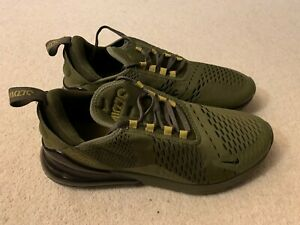 Nike Air Max 270 Triple Olive men's trainers in green - size 8