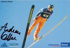 Andreas Küttel  Schweiz  Skispringen Autogrammkarte signiert WL 339158